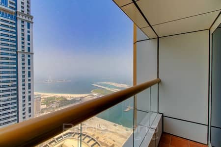 4 Bedroom Penthouse for Rent in Dubai Marina, Dubai - Fully Furnished and High Floor Penthouse in Elite