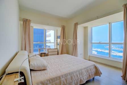 فلیٹ 2 غرفة نوم للايجار في دبي مارينا، دبي - 2 BR | Fully Furnished | High Floor | Vacant Now