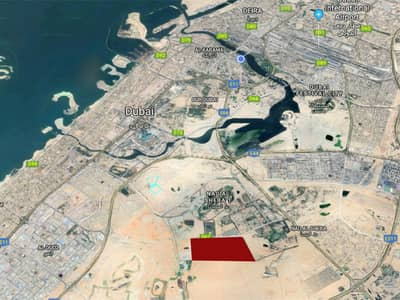 Mixed Use Land for Sale in Nad Al Sheba, Dubai - 5 year payment plan/ G+ 6 residential plot .(NO Commission)