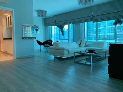 شقة 2 غرفة نوم للايجار في دبي مارينا، دبي - شقة في ديلفين مارينا بروميناد دبي مارينا 2 غرف 144000 درهم - 4302780