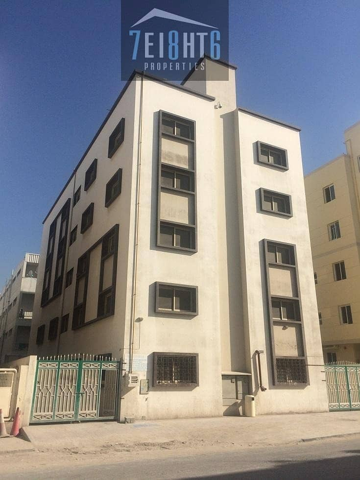 40 Rooms independent labour camp + central a/c + 8 person capacity for rent in Jebel Ali Industrial 2 (COMMERCIAL)