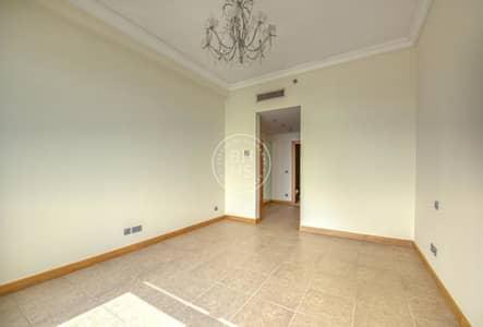 1 Bedroom Apartment for Sale in Palm Jumeirah, Dubai - Spacious 1 BR on high floor in Al Hamri | Vacant