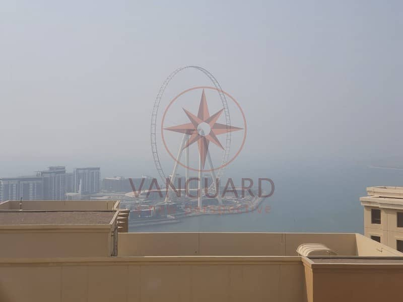 2 Bedroom for rent with Sea View on High Floor in Amwaj 4