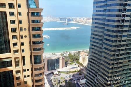 3 Bedroom Apartment for Sale in Dubai Marina, Dubai - High Floor   3 Bedroom   Part Sea View