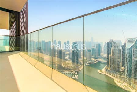فلیٹ 1 غرفة نوم للبيع في دبي مارينا، دبي - Vacant | Full Marina Views | Contemporary Designed