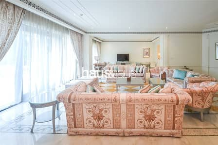 4 Bedroom Apartment for Rent in Culture Village, Dubai - 4 Bed Duplex | Versace Furnishings | Private Pool