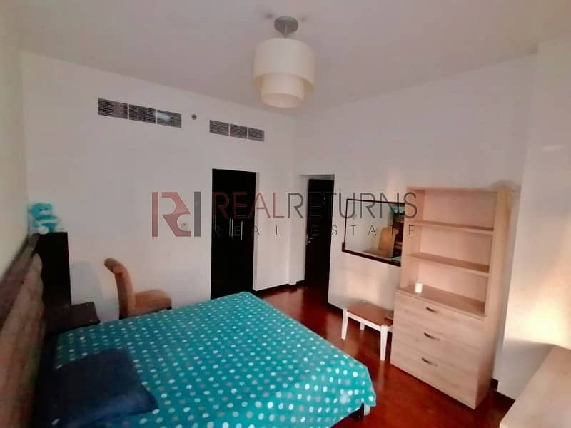 Fully Furnished Decent 2bedroom plus Maid Chiller Free