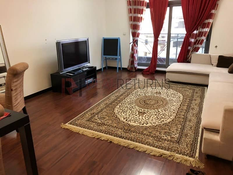 15 Fully Furnished Decent 2bedroom plus Maid Chiller Free