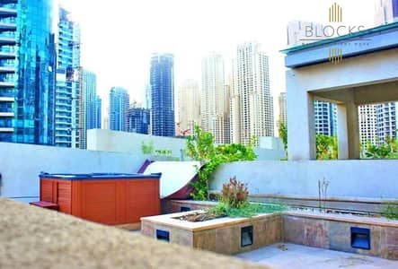 5 Bedroom Flat for Sale in Dubai Marina, Dubai - 5BRs+Maids Apartment with Private Elevator