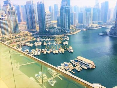 فلیٹ 3 غرفة نوم للايجار في دبي مارينا، دبي - Iconic Living | Huge 3 Bed | Full Marina View