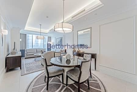 شقة فندقية 1 غرفة نوم للايجار في وسط مدينة دبي، دبي - Burj Khalifa View 1bed| The Address BLVD