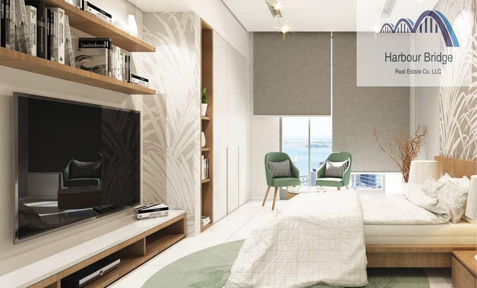Cheapest Studio | 7 years Payment Plan| Furnished | Blue Waves Tower
