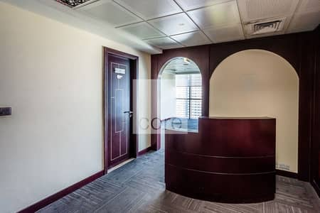 Office for Rent in Jumeirah Lake Towers (JLT), Dubai - Full Floor Fitted Office | Easily Accessible