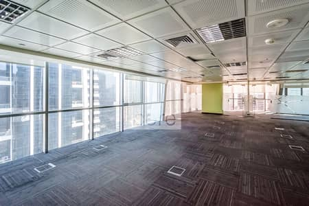 Floor for Rent in Jumeirah Lake Towers (JLT), Dubai - Full Floor Fitted Office | Easily Accessible