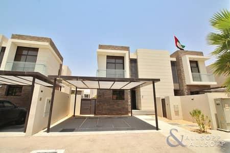فیلا 3 غرف نوم للبيع في داماك هيلز (أكويا من داماك)، دبي - Single Row | Fully Furnished | Three Bed