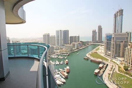 3 Bedroom Apartment for Rent in Dubai Marina, Dubai - Fully Furnished | Marina Views | 3 Bedroom