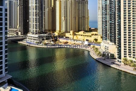 2 Bedroom Flat for Sale in Dubai Marina, Dubai - Vacant |Marina View|Furnished|Time Place