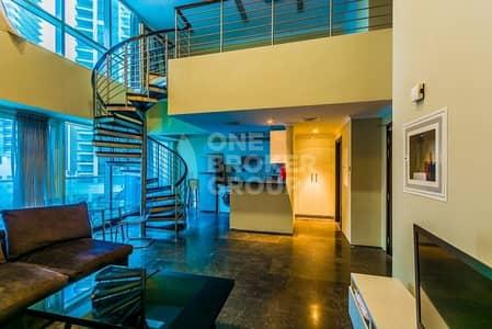 1 Bedroom Flat for Sale in Dubai Marina, Dubai - Beautiful 1 Bed Loft I Upgraded and Rented