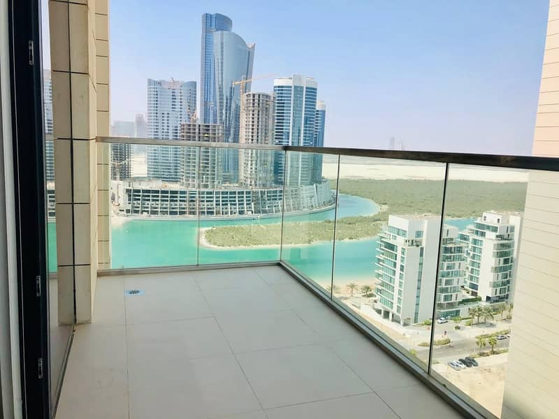 Brand New Tower Amaing Apartment 1 Bedroom 2 Bathrooms Available Park Side Residence Al Reem Island .