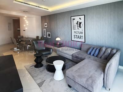 3 Bedroom Hotel Apartment for Rent in Business Bay, Dubai - Fantastic View|3BR Serviced Apartment|High Floor