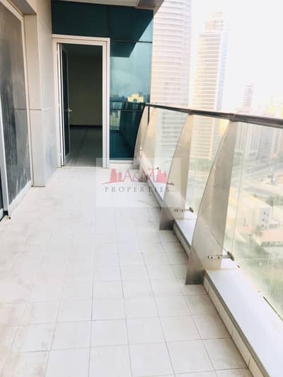 3 Bedroom Apartment for Rent in Corniche Road, Abu Dhabi - spacious 3bhk+maid on corniche-khalidiya!