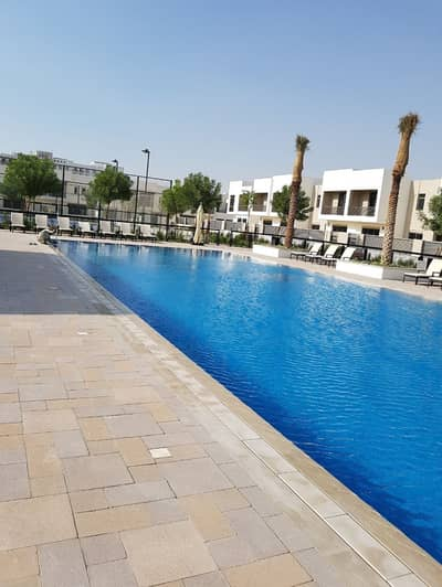 3 Bedroom Townhouse for Sale in Town Square, Dubai - 3 BED+MAID | POOL AND GARDEN VIEW| BRAND NEW