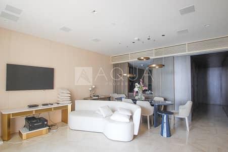 شقة 2 غرفة نوم للايجار في نخلة جميرا، دبي - Luxury Furnished | High Floor | Sea Views