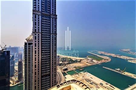 4 Bedroom Penthouse for Sale in Dubai Marina, Dubai - Huge Penthouse |Amazing Sea View| ROI 8%