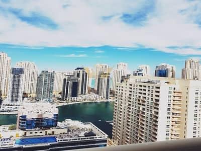 فلیٹ 2 غرفة نوم للايجار في دبي مارينا، دبي - Near Metro