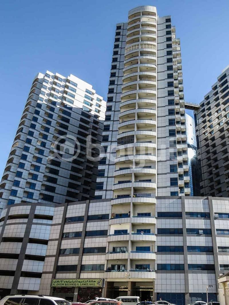 شقة في برج الصقر عجمان وسط المدينة 1 غرف 220000 درهم - 4305889