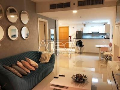 فلیٹ 1 غرفة نوم للايجار في جزيرة الريم، أبوظبي - A  Fully furnished Luxurious 1 Bed Apt in Damac Marina Bay! Najmat Al Reem Island