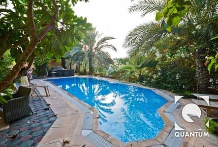 5 Bedroom Villa for Rent in The Meadows, Dubai - Lake View | Upgraded Kitchen | Large Pool