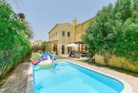 فیلا 4 غرفة نوم للبيع في المرابع العربية، دبي - Full Lake view    6% ROI   Private Pool
