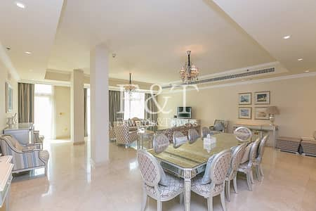 4 Bedroom Townhouse for Sale in Palm Jumeirah, Dubai - Private Pool | Vacant On Transfer | 5859 SqFt | PJ