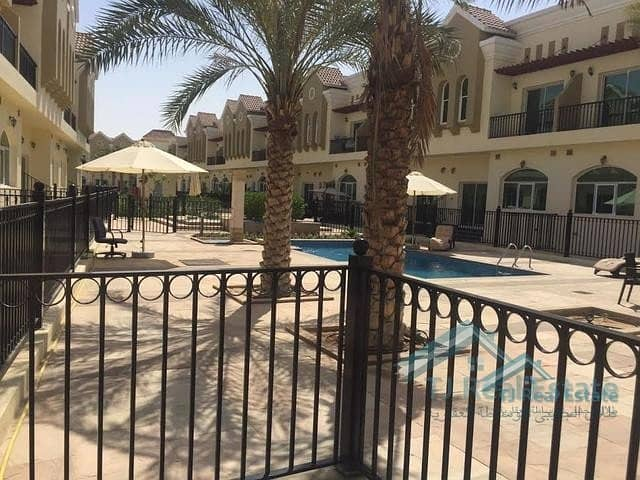 9 3BR HALL SAHARA MEADOWS TOWNHOUSE  FOR RENT 60K