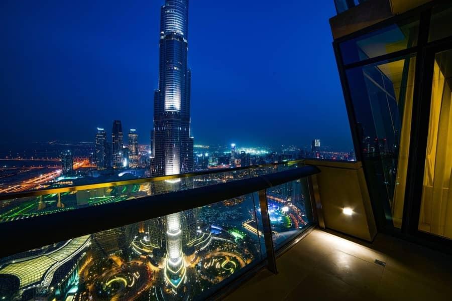 2 High Floor|Burj Khalifa View|Furnished [BS]