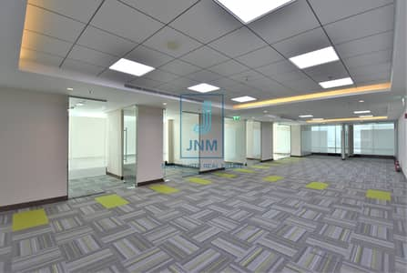 Office for Rent in Jumeirah Lake Towers (JLT), Dubai - Great Choice! Fully Fitted Office in Reef Tower