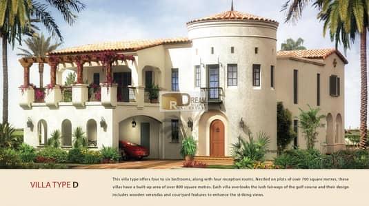 فیلا 4 غرفة نوم للبيع في عقارات جميرا للجولف، دبي - Golf View - Spanish Style - Ready to move in