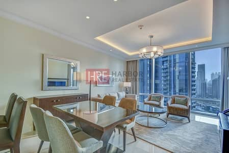 1 Bedroom Apartment for Rent in Downtown Dubai, Dubai - Nice Looking 1BR | Burj Khalifa View | Balcony