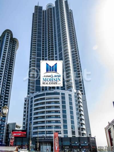 3 Bedroom Apartment for Sale in Corniche Ajman, Ajman - 3BHk For Sale In Corniche Tower Ajman Full Sea View