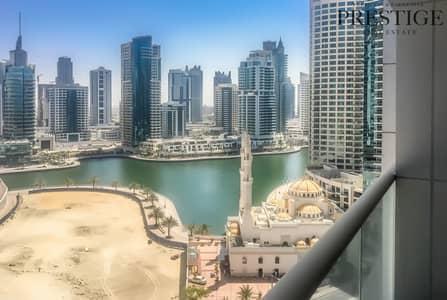 فلیٹ 1 غرفة نوم للايجار في دبي مارينا، دبي - 1 bedroom  | unfurnished  | Dubai marina