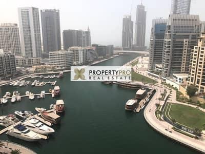 2 Bedroom Flat for Rent in Dubai Marina, Dubai - FUNISHED 2 BR APT I STUNNING MARINA VIEW