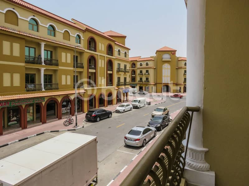 One Bedroom with balcony  Available For Sale l Spain Cluster 355k