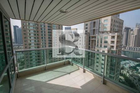 3 Bedroom Apartment for Rent in Dubai Marina, Dubai - Huge 3BR for Rent! | Partial Marina view | Al Mass