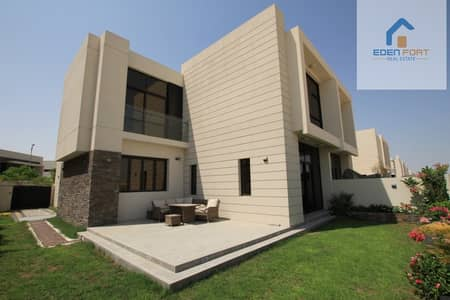 4 Bedroom Townhouse for Rent in DAMAC Hills (Akoya by DAMAC), Dubai - Fully Furnished 4 Bed Room+maid Townhouse