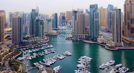 شقة 2 غرفة نوم للبيع في دبي مارينا، دبي - Spacious 2 BR | Marina View & Next to metro