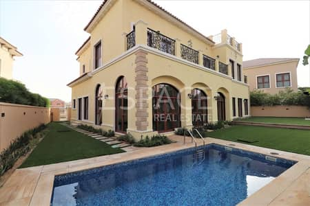 6 Bedroom Villa for Rent in Jumeirah Golf Estate, Dubai - Private Pool | Fitted Kitchen | 6 Beds