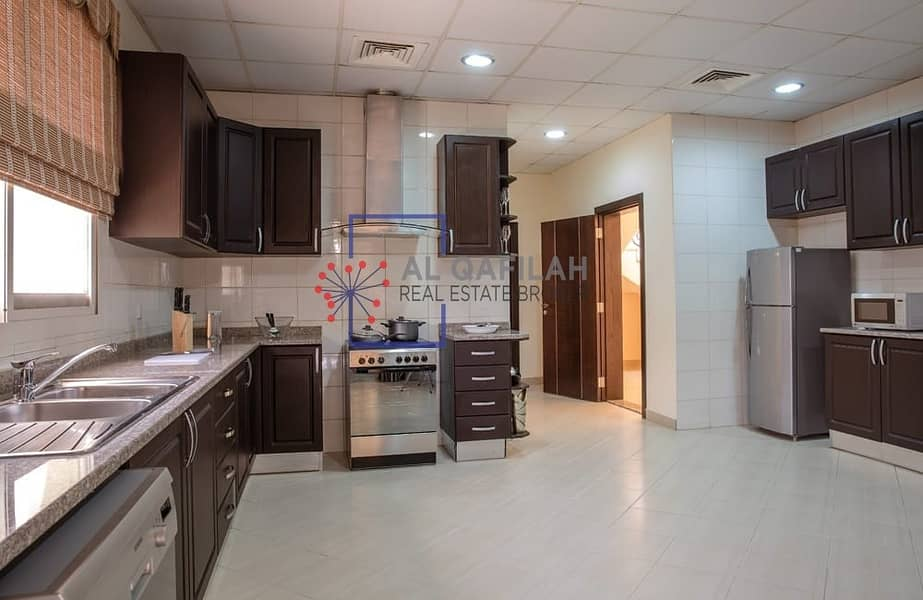 2 Bright and Spacious | Maid's room | Huge Living room |
