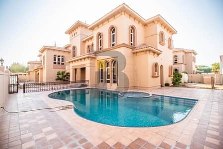 6 Bedroom Villa for Rent in Al Safa, Dubai - Supremely Spacious Independent Villa with Pool