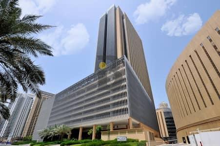 Office for Rent in Dubai Marina, Dubai - Semi-fitted office | Marina Plaza | Marina